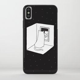Schrödinger's cat iPhone Case