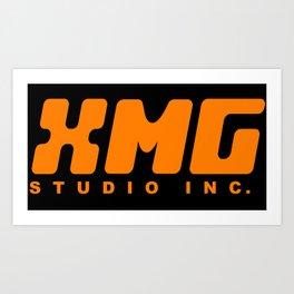 XMG Studio, Orange Art Print