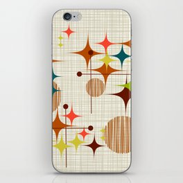 Starbursts and Globes 4 iPhone Skin