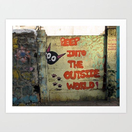 Street Art Bombay II Art Print