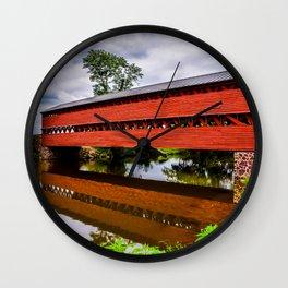 Sachs Covered Bridge Wall Clock