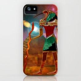 Ancient Secrets THOTH 3D Scifi Egyptian iPhone Case