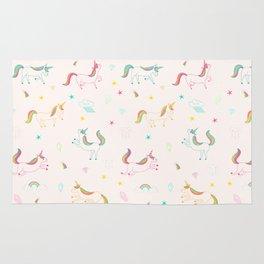 Cute unicorn pattern Rug
