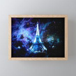 paRis galaxy dreams Framed Mini Art Print