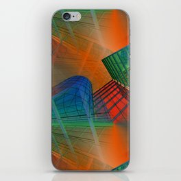 city pattern -3- iPhone Skin