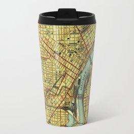 Vintage Map of Toledo Ohio (1938) Travel Mug