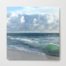 Sea Green Metal Print