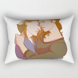Damaged Rectangular Pillow