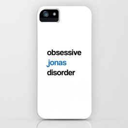 OJD - Obsessive Jonas Disorder iPhone Case