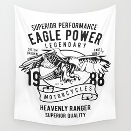 superios performance eagle power Wall Tapestry