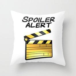 Spoiler Alert! Throw Pillow