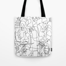 Two Kings Tote Bag