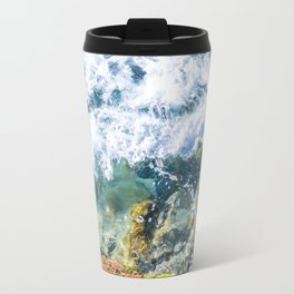 Clear Water Cliffside Travel Mug