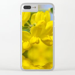 Yellow Spring 237 Clear iPhone Case