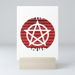 Gothic Satanism Squad Mini Art Print