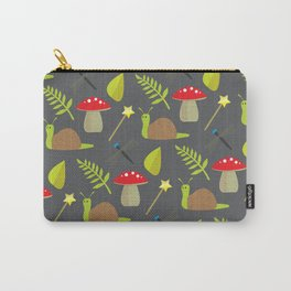 Fairy Garden Pattern 2 Carry-All Pouch