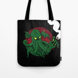 Cthulhu Cigars: Taste the Madness Tote Bag