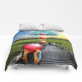 Interspatial Field Comforters