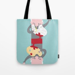 Picasso With Red Sauce Tote Bag