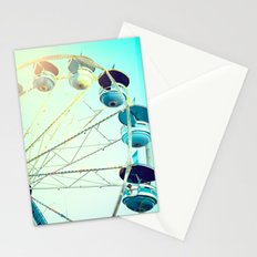 Blue Carousel Stationery Cards