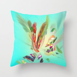 the Art of flying / Kunst ist fliegen Throw Pillow