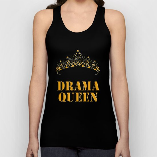 Drama queen - humor Unisex Tank Top
