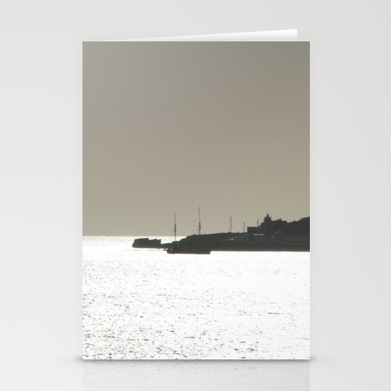 Silver harbor Stationery Cards