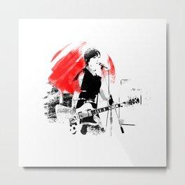 Japanese Artist Metal Print