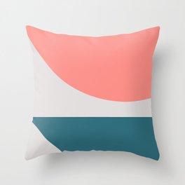 Geometric Form No.8 Throw Pillow