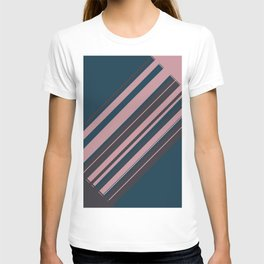 Rose stripes T-shirt