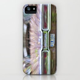 Thunderbird Lanes iPhone Case