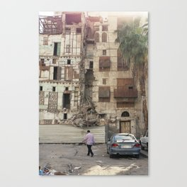 Sunset on The Rubble! Canvas Print