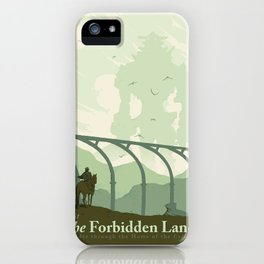 Visit The Forbidden Land iPhone Case