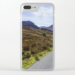 Angel In The Sky Clear iPhone Case