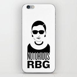 Notorious RBG iPhone Skin