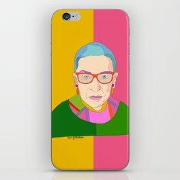 Ruth Bader Ginsburg iPhone Skin