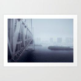 Rainbow Bridge - East Art Print