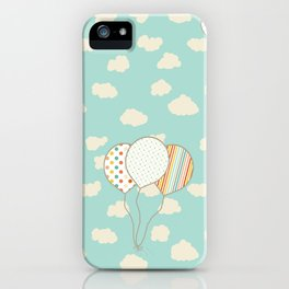 Balloons that Fly iPhone Case