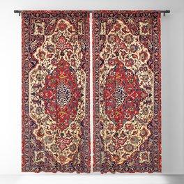 Esfahan Central Persian Rug Print Blackout Curtain
