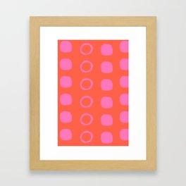 Oink Framed Art Print