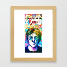 John L Framed Art Print