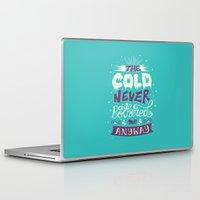 lyrics Laptop & iPad Skins featuring Lyrics Love by Pink Berry Patterns