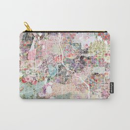 Minneapolis map - Landscape Carry-All Pouch