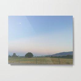 Pastel Summer Sky Metal Print