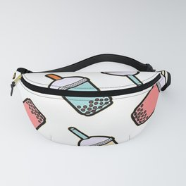 Bubble Tea Pattern Fanny Pack