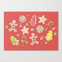 Holiday Treats Canvas Print