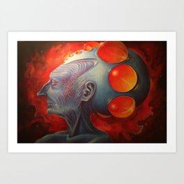Mother Mnemosyne Art Print