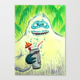 Bumbles in the Mix Canvas Print