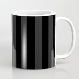 Goth'd Damask Stripe Coffee Mug