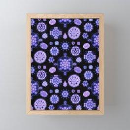 Ernst Haeckel - Melethallia (Purple) Framed Mini Art Print